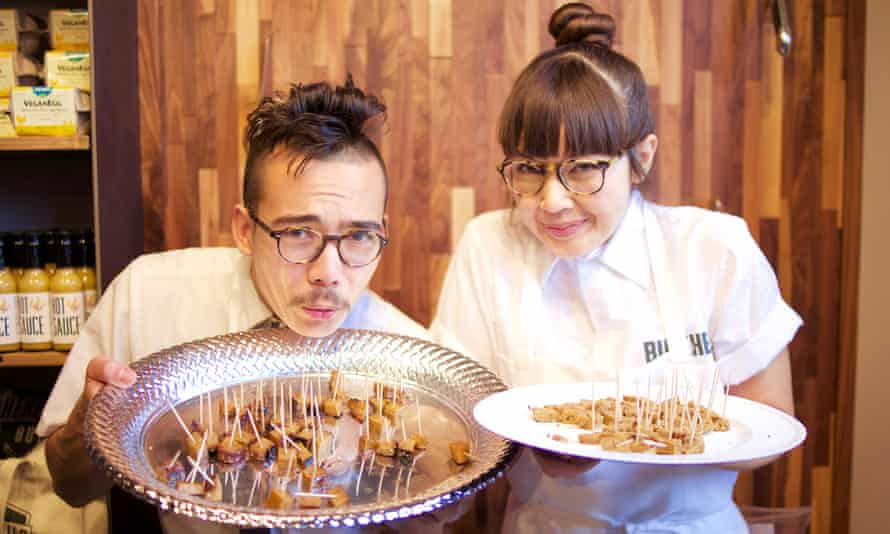 Aubry and Kale Walch of the Herbivorous Butcher: 'We're a bit like a savory bakery.'
