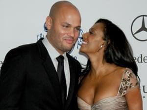 Melanie Brown with her ex-husband, Stephen Belafonte, in 2008.