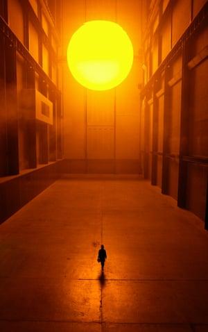 Olafur Eliasson's Giant Sun