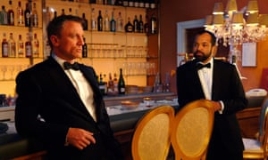 Stirring … Daniel Craig as James Bond and Jeffrey Wright as Felix Leiter in Casino Royale.