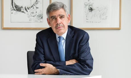 Mohamed El-Erian: 'We get signals that the system is under enormous stress'
