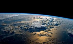 Earth seen from the International Space Station, taken by NASA astronaut Gregory Reid Wiseman from the International Space Station on, 02 September 2014.