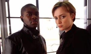 David Oyelowo and Keeley Hawes as Zoe and Danny in Spooks.