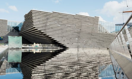 The V&A Museum of Design, Dundee.
