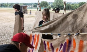 Summer activity camp in south London