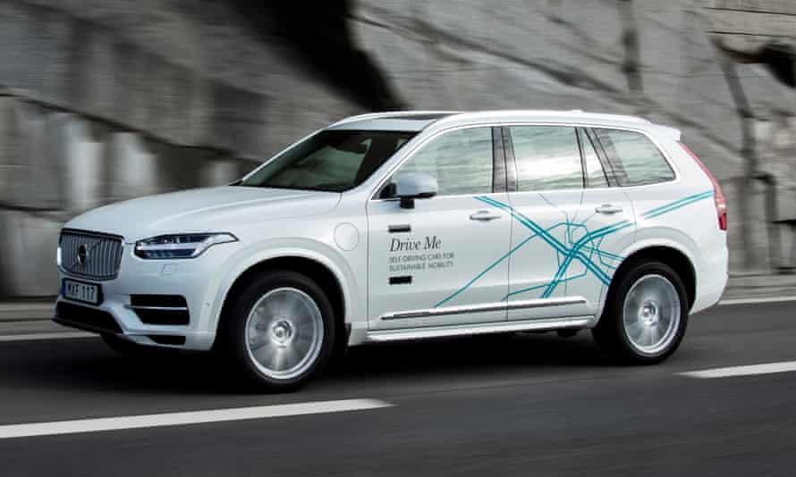 Volvo's XC90 Drive Me test vehicle