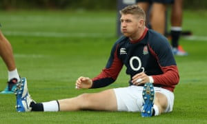 Ruaridh McConnochie was due to make his England debut against Wales on Saturday but may now miss out due to muscle soreness.