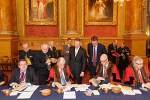 Trial of the Pyx, Goldsmiths' Hall, 2014