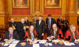 Trial of the Pyx, Goldsmiths' Hall