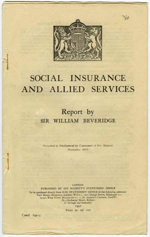 The Beveridge Report on Social Services & Allied Services from 1942