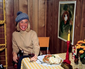 Doris Day having lunch in Hollywood, California on 25 February 1970.
