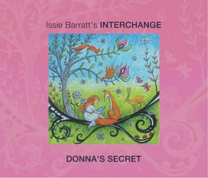 Issie Barratt's Interchange: Donna's Secret album art work