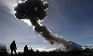 Popocatépetl volcano