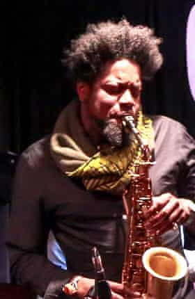 Soweto Kinch at the 606 jazz club in May 2015-