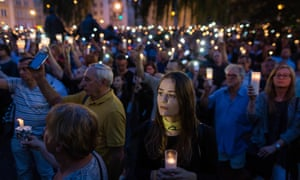 A vigil in front of the Polish Supreme Court protests a new bill to change the judicial system.