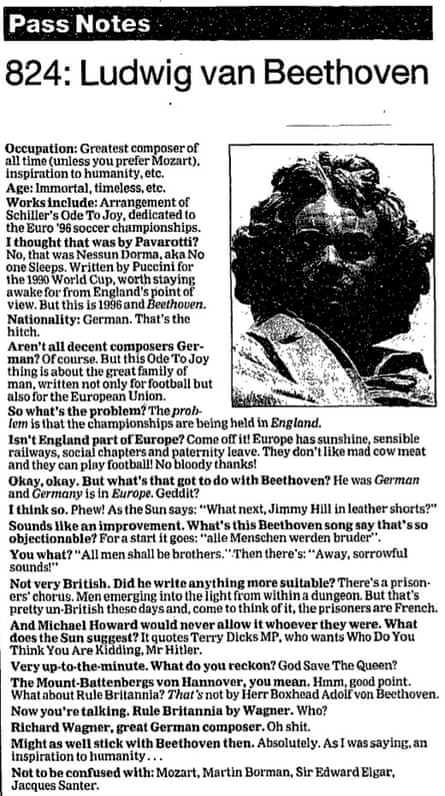 The Guardian, 8 May 1996.