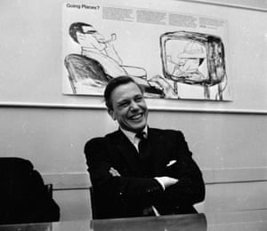 David Attenborough in 1965, having just been appointed head of BBC2.