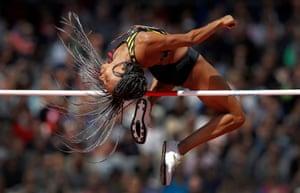 Nafi Thiam, World Athletics Championships, London 5 August 2017