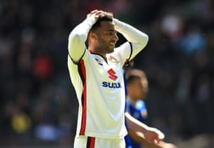 Nicky Maynard and the MK Dons struggled in the Championship last season.