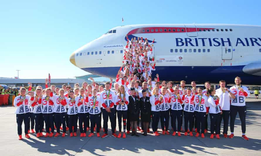 The Team GB homecoming, brought to you by British Airways.