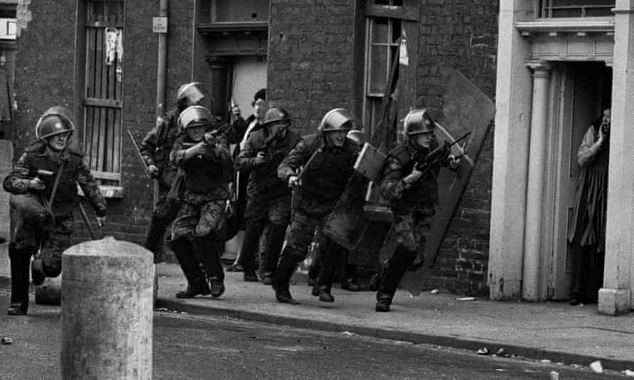 A scene from the Bogside in Derry in 1971 taken by Don McCullin.