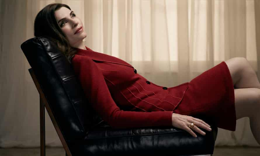 Julianna Margulies as Alicia Florrick in the Good Wife.