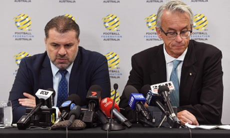 Ange Postecoglou quits as Socceroos coach – video
