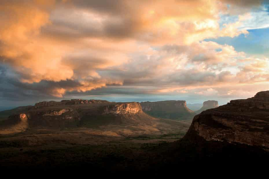 Morro do Pai Inácio, Chapada Diamantina, in the extreme north of Espinhaço Mountain Range