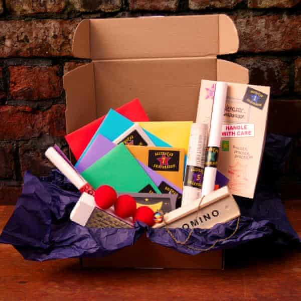 Box of tricks … Balthazar Snapdragon.