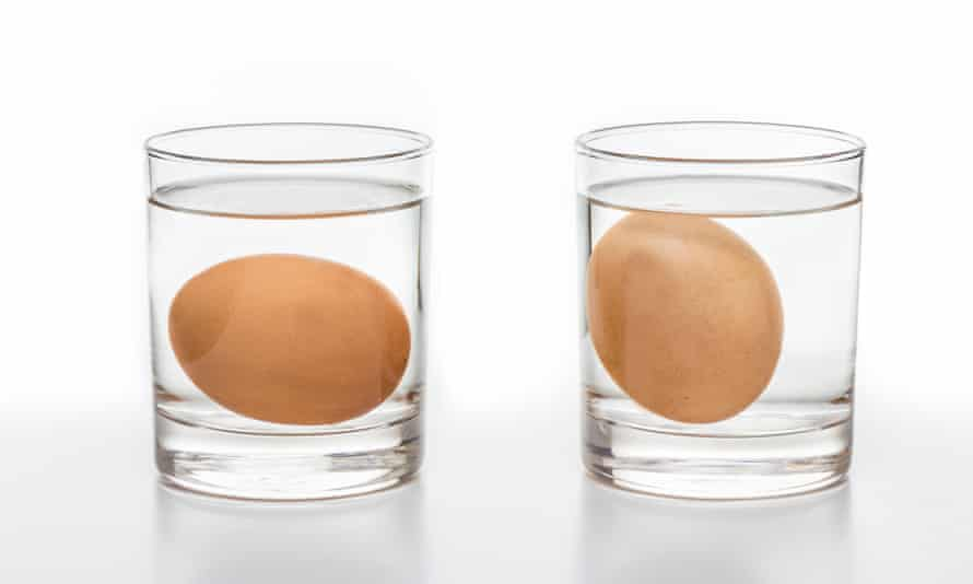 The water test for rotten eggs.