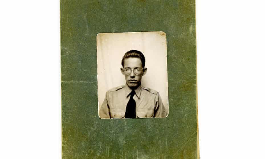 A photograph of William Luther Pierce from the archive of Kelvin Pierce.