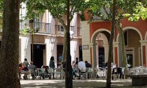 Gothic quarter of Vilafranca Del Penedes.