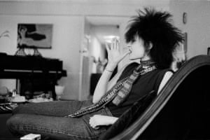Siouxsie in London in 1980