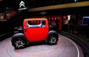The new Citroen Ami One is a modern day 2CV which can be rented or shared. The pure-electric two-seater fits into quad bike regulations a formula Renault used with its Twizy