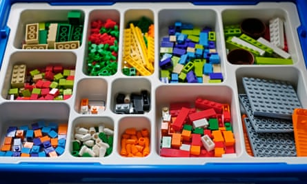 'My little boy was obsessed with building things out of Lego ... I was convinced that he would end up in a career building and designing complex structures'
