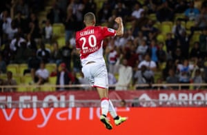 Islam Slimani has scored four goals and set up four more in his first five games for Monaco.