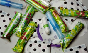 Tampons and panty liners