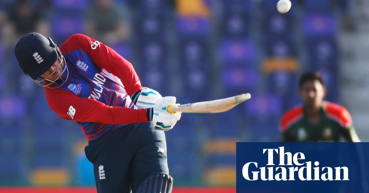 Jason Roy's 61 helps speed England past Bangladesh at T20 World Cup