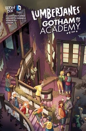 Lumberjanes meet Gotham Academy.