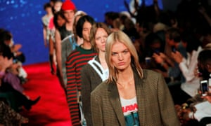 Jaws was a theme for the Calvin Klein Spring/Summer 2019 collection at New York Fashion Week.