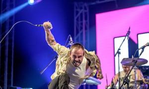 Joe Talbot and Jon Beavis at Nos Alive festival, Portugal, last year.