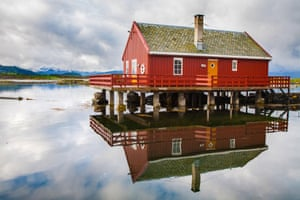 Traditional fisherman's houseat Haholmen island.