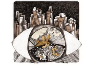 by Gulnar Hajou, a Syrian artist