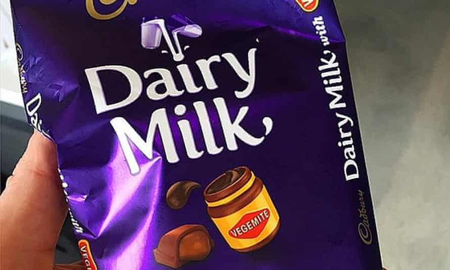 Cadbury's Dairy Milk with Vegemite