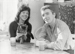 Jimmy Boyle with former wife Sarah Trevelyan.