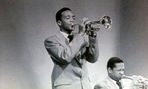 Jones on trumpet in the 1960s.