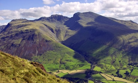 Too high: men rescued from Scafell Pike 'unable to walk due to cannabis'