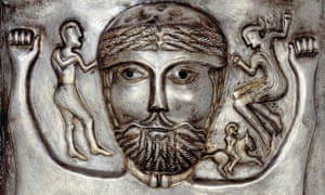 Gundestrup Cauldron. Silver, northern Denmark, 100 BC–AD 1, from Celts: Art and Identity