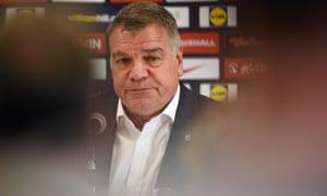Sam Allardyce, new England manager