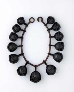 Coal musubi neckpiece by Kyoko Hashimoto